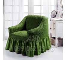Чехол для кресел зеленый