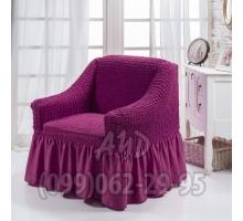 Чехол для кресел фиолетовый