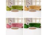Чехлы для углового дивана и кресла (19)