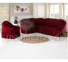 Чехол для углового дивана и кресла