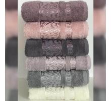 """Бамбуковые полотенца """"Хороший вкус 2"""" банные 70x140 (набор 6 шт.)"""
