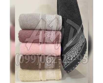"""Махровые полотенца """"Крокус"""" серия ШИК для сауны и бани 90x150 (набор 6 шт.)"""