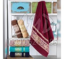 "Махровые полотенца ""Ottoman"" для лица 50x90 (набор 6 шт.)"