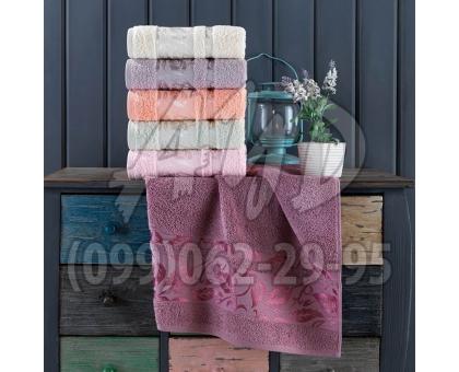 """Махровые полотенца """"Даяша"""" серия ШИК банные 70x140 (набор 6 шт.)"""